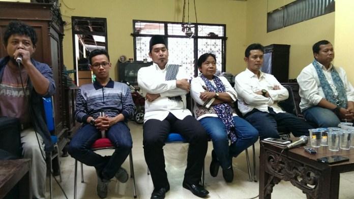 Acara Konsolidasi Pergerakan Menuju Jihad 212-People Power 2016 di Rumah Kedaulatan Rakyat di Manggarai, Jakarta Selatan, Rabu (30/11/2016)/Foto Hatiem / NUSANTARAnews