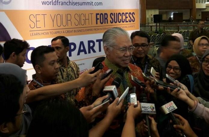 Mendag Enggartiasto Lukita dalam acara Indonesia Franchinse and SME Expo (IFSE) di JCC, Jumat, (25/11/2016)/Foto Andika / NUSANTARAnews