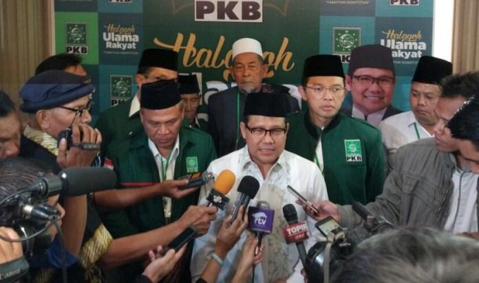 Ketua Umum DPP Partai Kebangkitan Bangsa (PKB) Muhaimin Iskandar (Cak Imin) Memberikan Keterangan Pers. Foto Dok. PKB News