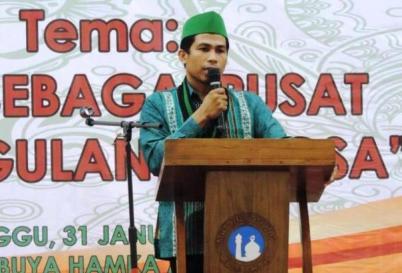 Ketua Umum PB HMI MPO, Muhammad Fauzi/Foto: Dok. konfrontasi