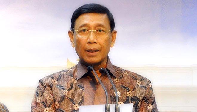 Menteri Koordinator Bidang Politik Hukum dan Keamanan Jenderal (Purn) Wiranto.Foto Via @Times_Indonesia