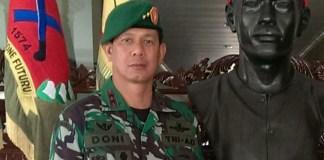 Pangdam XVI, Mayjen TNI Doni Monardo. Foto IST
