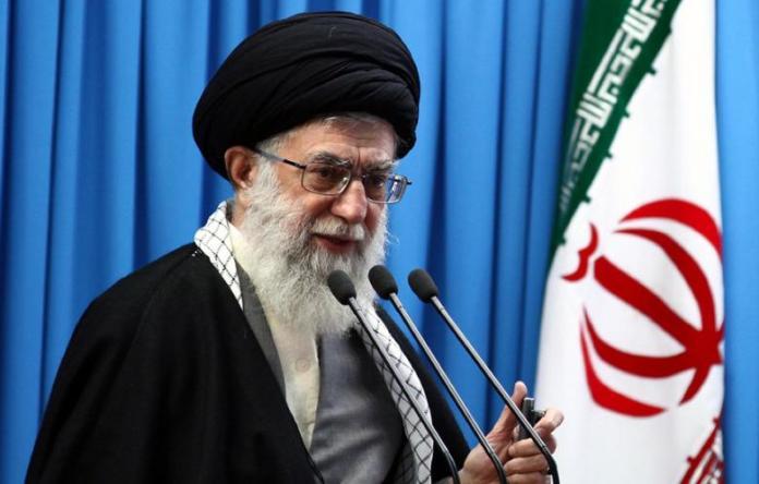 Pimpinan Tertingti Iran Ayatollah Khamenei. Foto Via Theiranproject