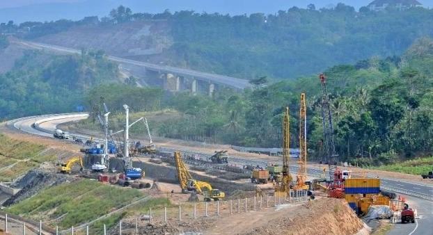 Pembangunan Tol Solo-Kertasono/Foto ANTARA