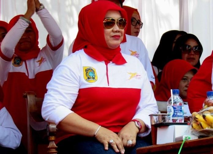 Bupati Klaten Sri Hartini/Foto : Dok. mattanews.com