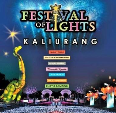 Festival of Lights 2016 di Gardu Pandang, Kaliurang/Poster Istimewa
