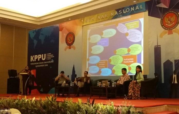 KPK dan KPPU Gelar Seminar Kartel dan Korupsi/Foto Fadilah / NUSANTARAnews