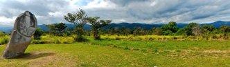Situs megalitikum di Lembah Bada, Poso, Sulawesi Tengah. Foto via @feri_latief