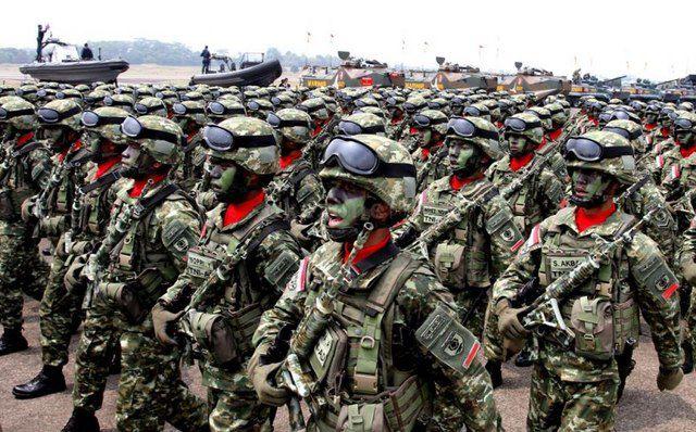 TNI Penjaga keamanan nasional. Foto IST