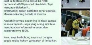 Surat terbuka buat panglima TNI bapak Jenderal Gatot Nurmantyo dari Yanuari Budi Jatmiko/Crop Foto by Nusantaranews
