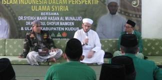 Cendekiawan muslim asal Syiria, DR. Syaikh Mahir Hasan Al-Munajjid. Foto Dok. Pribadi