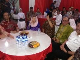 Haul ke 7 mantan presiden keempat RI KH Abdurrahman Wahid (Gus Dur) di MMD Initiative, Rabu malam (11/1/2017)/Foto Hatiem/NUSANTARAnews
