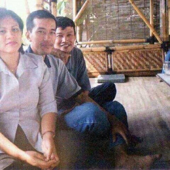 Foto Joko Widodo sewaktu masih muda/Foto Dok. BT (fb: BT)