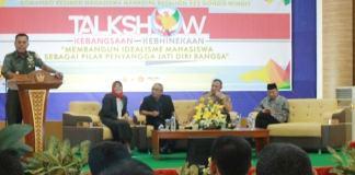 Acara talkshow kebangsaan digelar BEM UMK di Auditorium Kampus UMK, Sabtu lalu (14/1/2017)/Foto: Rosidi