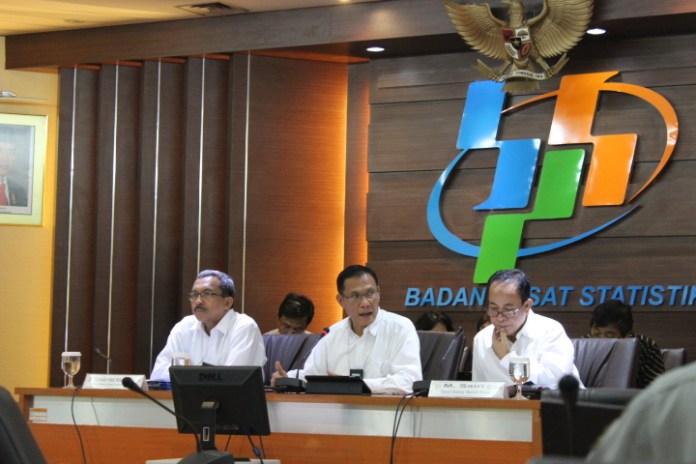 Kepala BPS Suhariyanto. Foto Andika/Nusantaranews