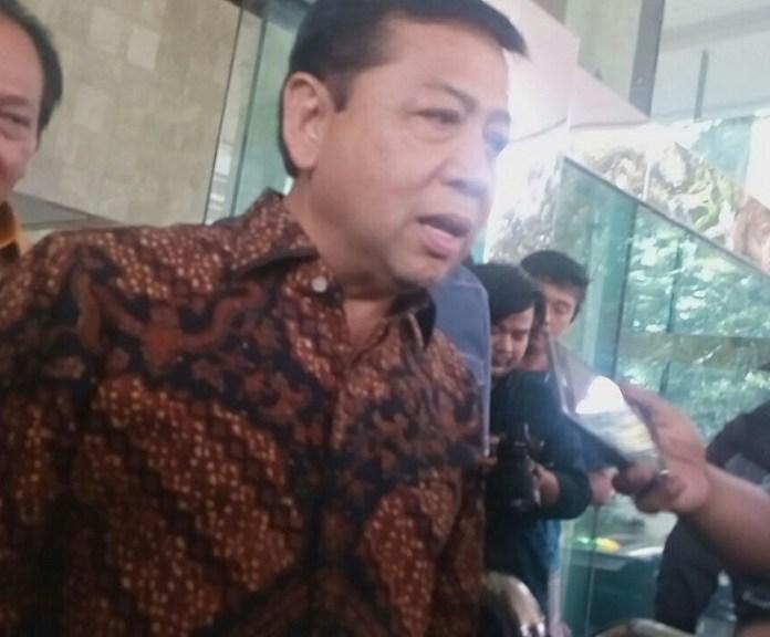 Ketua Dewan Perwakilan Rayat (DPR) RI, Setya Novanto. Foto fadilah/Nusantaranews