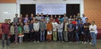 Lokakarya yang diselenggarakan oleh PGI di Student Center GMKI Wisma Immanuel. Foto Halimah/Nusantaranews