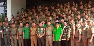 Sinergi TNI dan Banser Menakutkan Bagi Negara Lain. Foto via tribun