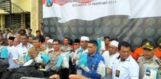 Amankan 20 Kg Sabu, Polda Jatim Tangkap Tiga Pengedar Sabu Antar Pulau/Foto Three