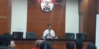Juru Bicara (Jubir) KPK, Febri Diansyah/Foto Restu Fadilah/ NUSANTARAnews