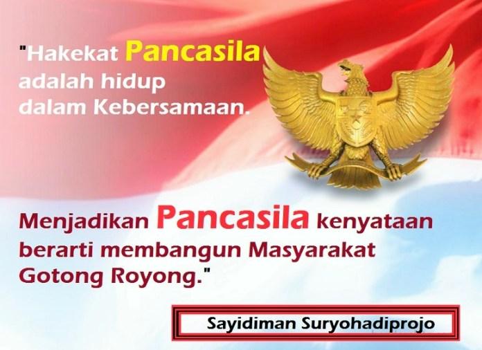 Hakekat Pancasila adalah hidup dalam Kebersamaan/Ilustrasi: NUSANTARAnews