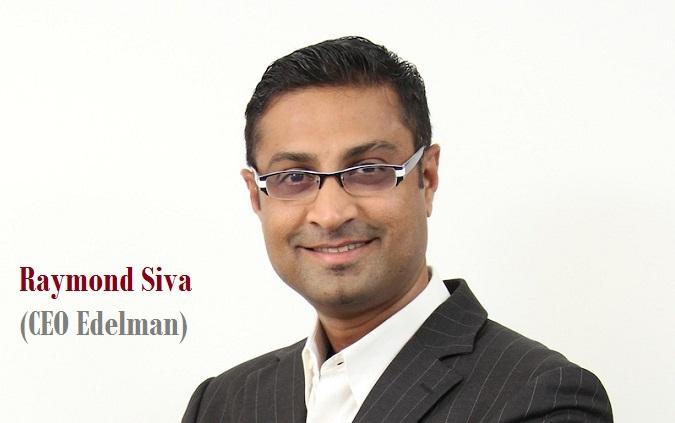 CEO Edelman Raymond Siva/Ilustrasi NUSANTARAnews /publicaffairsasia.com