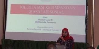 Mensos Khofifah Indar Parawansa/Foto Andika/Nusantaranews