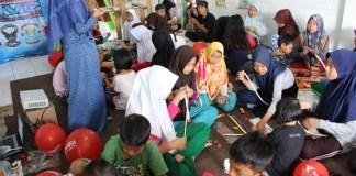 Taman Baca Masyarakat Bogor bersma Dompet Dhuafa/Foto: Dok. Dompet Dhuafa