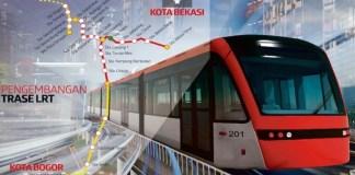 Proyek LRT/Foto Ilustrasi/Monitorday