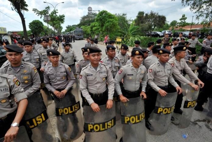 Sejumlah Polisi/Foto Ilustrasi/Istimewa