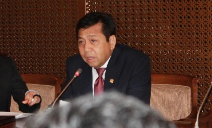 Setya Novanto. (Foto Hatim/NusantaraNews)
