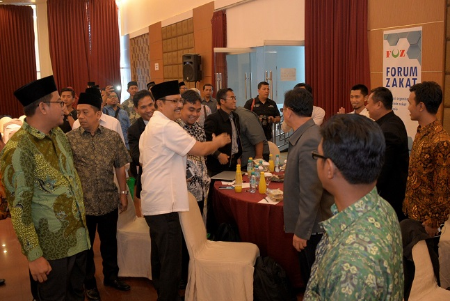 Wagub Jatim Drs Saifullah Yusuf Hadiri Pembukaan Rakernas Konferensi Zakat Nasional dan Forum Amil Zakat di Hotel Oval Surabaya/Foto Tri Wahyudi