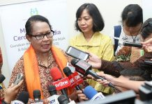 Menteri Pemberdayaan Perempuan dan Perlindungan Anak (Menteri PPPA) Yohana Yembise/ Foto: Dok. Humas Kemenpppa