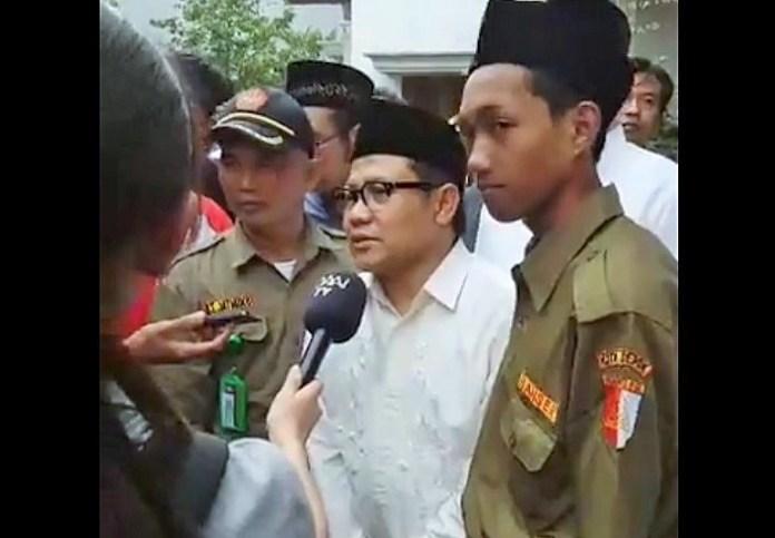 Ketua Umum DPP Partai Kebangkitan Bangsa (PKB) Ahmad Muhaimin Iskandar/Foto Syauqi/Nusantaranews