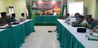 Acara Bahtsul Masail Kiai Muda bertema 'Kepemimpinan Non-Muslim di Indonesia' oleh PP GP Ansor/Foto Nur Faizin D