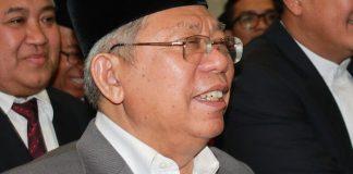 KH Ma'ruf Amin/Foto Hatim/Nusantaranews