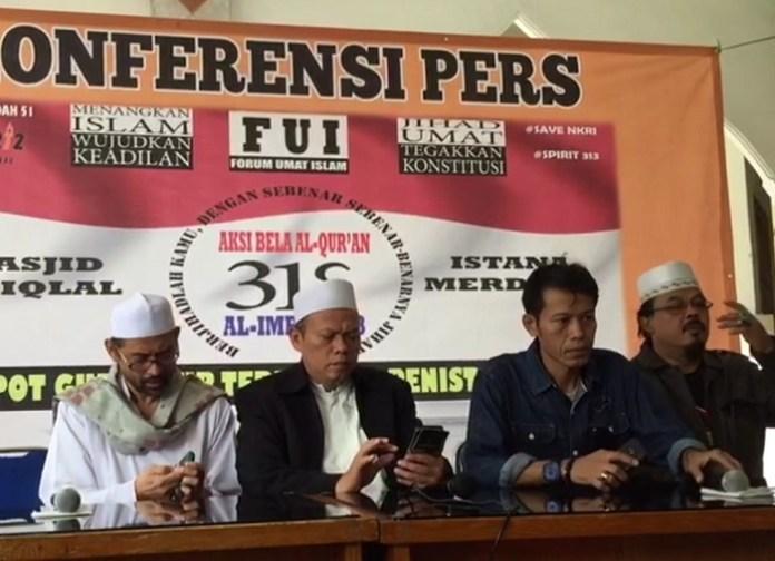 Konferensi Pers FUI jelang Aksi 313. Foto Richard Andika / NUSANTARAnews
