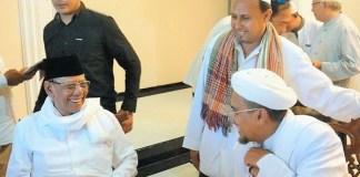 Keakraban almarhum KH. Hasyim Muzadi dengan Habib Rizieq Syihab | Koran Sindo