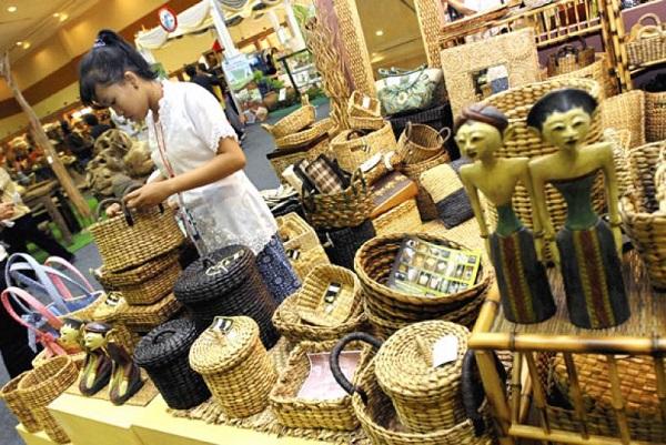 Produk Industri kreatif pemuda Indonesia/Foto: Dok. Antara
