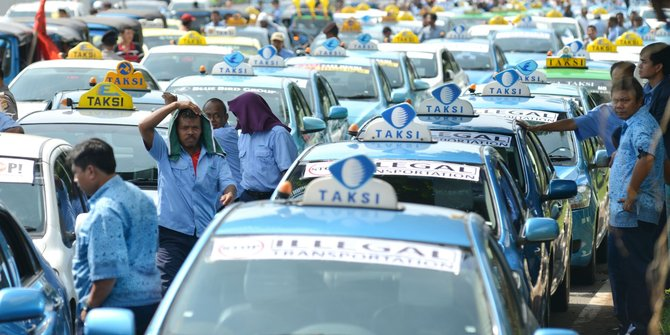 Moda Transportasi Konvensional/Foto via merdeka/Nusantaranews