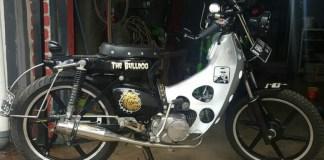 Modifikasi Motor The Bulldog/Foto Dok. Pribadi/Nusantaranews