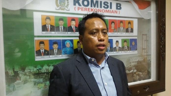 Anggota Komisi B DPRD Jatim Agus Maimun/Foto Tri Wahyudi