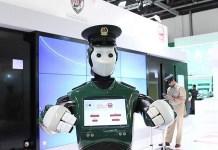 Polisi Robot Siap Patroli di Dubai/Foto via Time Out Dubai/Nusantaranews