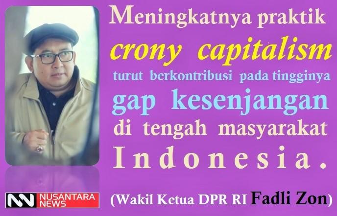 Praktik Crony Capitalism Perbengkak Gap Kesenjangan Rakyat Indonesia/Ilustrasi: NUSANTARAnews
