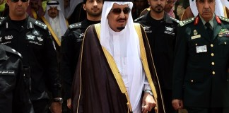 Raja Arab Saudi Salman bin Abdulaziz Al saud. AFP PHOTO / FAYEZ NURELDINE (Getty Images)