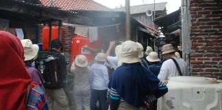 pendampingan edukasi warga Pulau Panggang memanfaatkan air hujan untuk konsumsi/Foto Dok. Pribadi/Nusantaranews