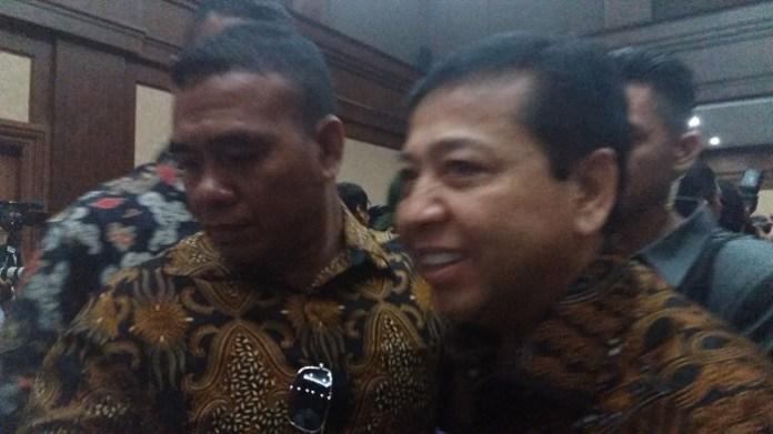 Ketua DPR (Dewan Perwakilan Rakat) RI, Setya Novanto. Restu Fadilah/ NUSANTARAnews