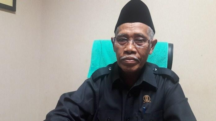 Anggota Komisi E DPRD Jatim KH. Kusni. Foto Tri Wahyudi