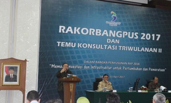 Rakor Rencana Kerja Pemerintah 2018, Menteri Bambang Ingin Investasi dan Infrastruktur Dipacu. Foto Richard Andika/ NUSANTARAnews