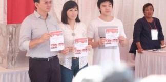 Ahok bersama keluarga di TPS/Foto Istimewa/Nusantaranews